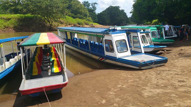 Tortuguero  boats